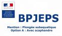 BP JEPS Plongée en Pyrénées Orientales 2021  réservée aux MF1