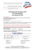 A table !!!!! Les pauses méridiennes du Championnat de France de PSP