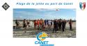 NAP : Randonnée palmée à Canet en Roussillon