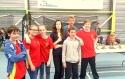 7 jeunes du Daulphy-club pour une 7ème place au Championnat de France Minimes de hockey-subaquatique à Talence !!!